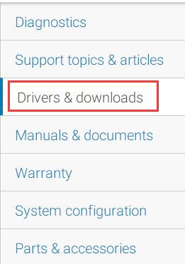 alienware driver download manually