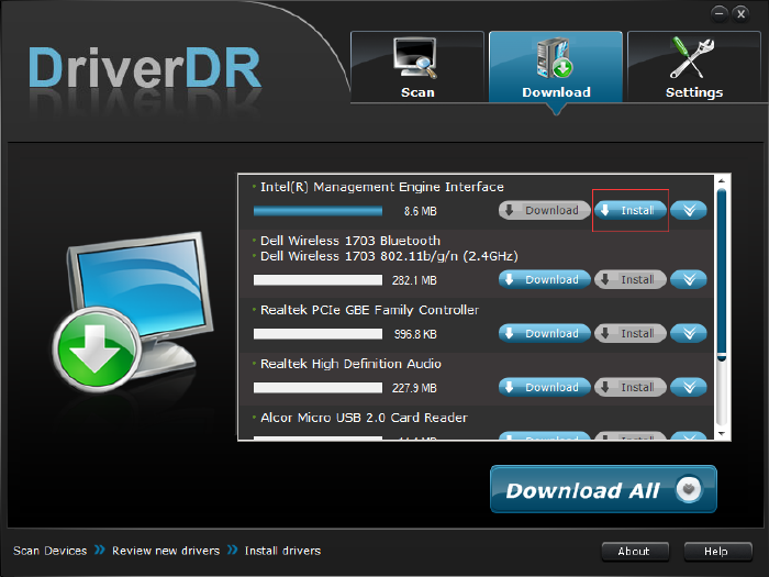 install drivers