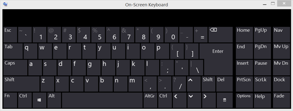 How to Open On-Screen Keyboard on Windows 10