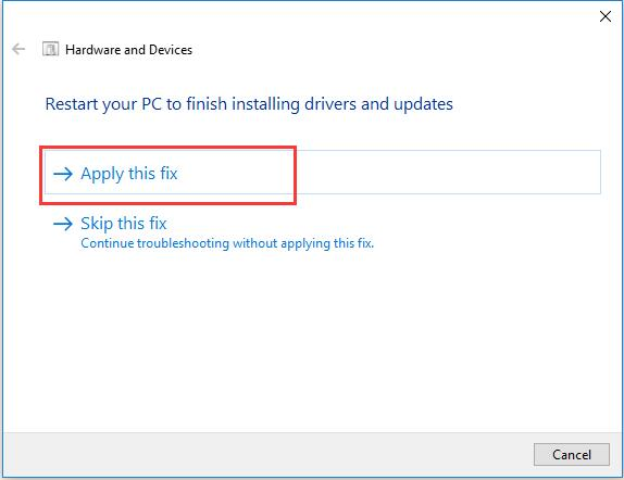 64f7c36f21b Then the Windows 10 will automatically fix your Logitech Marathon wireless  mouse M7056, Logitech Performance Mouse MX not working issue in Windows 10.