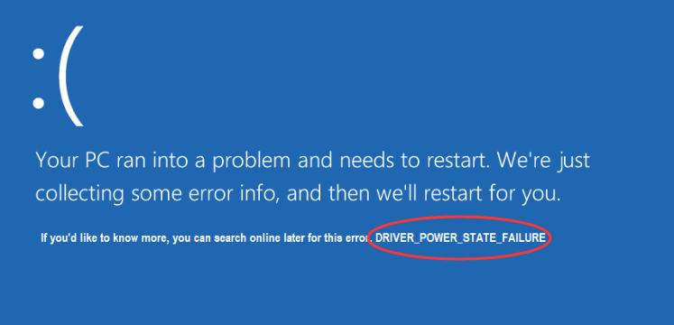 5 Ways to Fix Driver Power State Failure on Windows 10