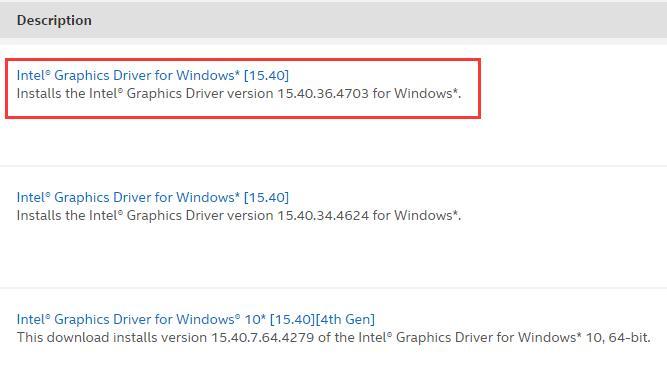 download intel graphics driver for windows 7 64 bit