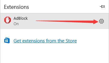 adblock settings