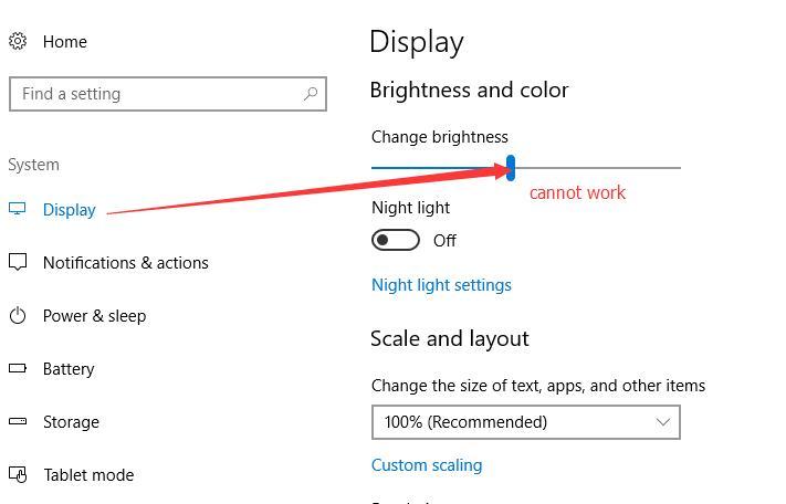 Fixed] Cannot Adjust Screen Brightness on Windows 10 - Windows 10 Skills