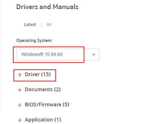 Download Acer drivers. Here you can click the button Download the get the  audio drivers, Bluetooth driver, Card reader driver, etc.