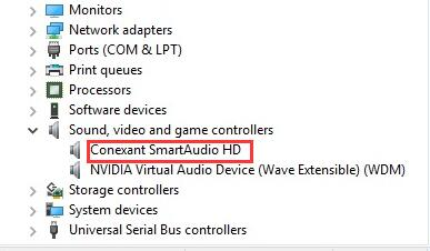 conextant smartaudio hd driver windows 10