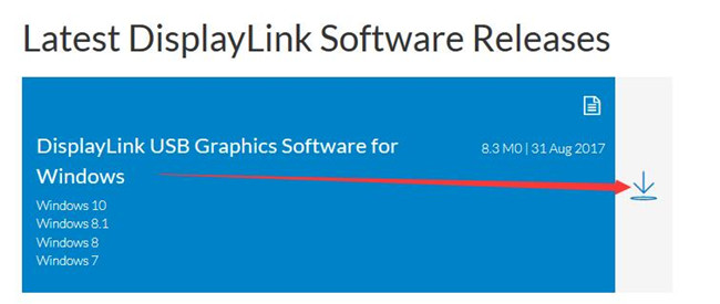 download displaylink usb graphic software for windows