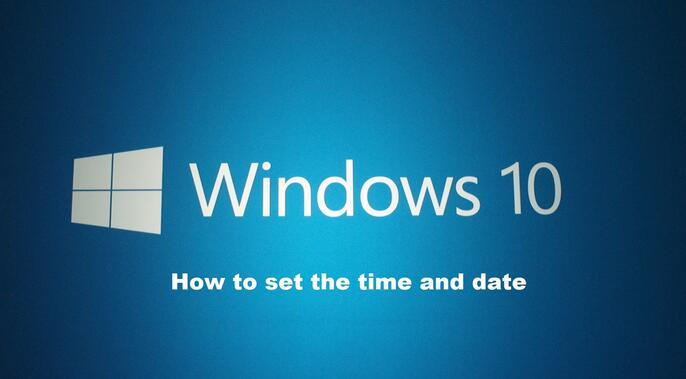 how to set time and date on windows 10