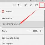 How to Turn on InPrivate Browsing Mode in Microsoft Edge