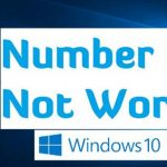 Fix NumberPad Not Working on Windows 10