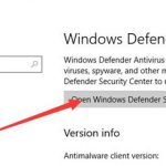 How to Configure Windows Defender for Windows 10
