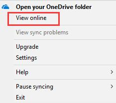 view online onedrive
