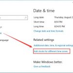 How to Add Clock on Windows 10 Desktop