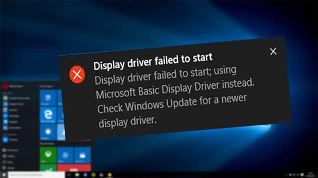 Fixed] Display Driver Failed to Start on Windows 10 - Windows 10 Skills