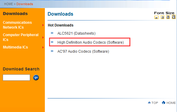 how to get realtek hd audio manager windows 10