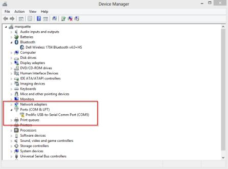 Fix prolific usb to serial comm port code 10 error on - Prolific usb to serial comm port driver windows 8 ...