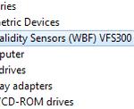 Fingerprint Reader not working on Windows 10