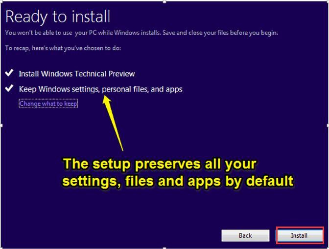 windows 10 setup start from iso