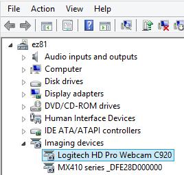 logitech webcam c920