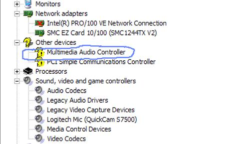 UNINSTALL LEGACY AUDIO DRIVERS FOR WINDOWS