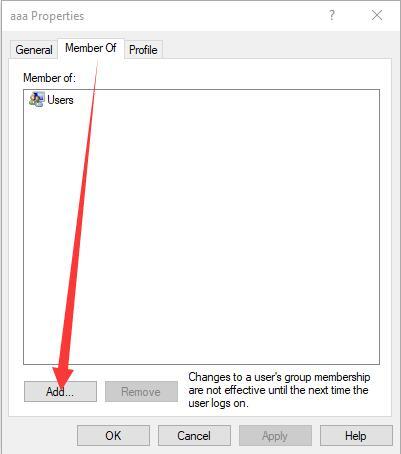 add an user account