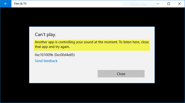 audiodg.exe windows 10 error