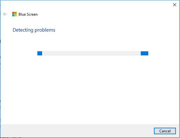 detect blue screen error