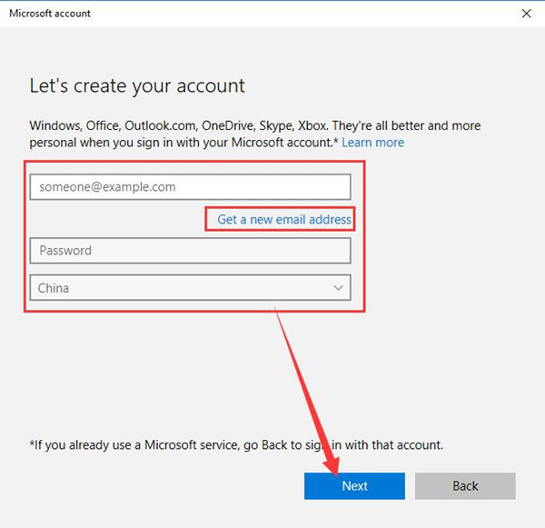 How To Use Microsoft Account On Windows 10