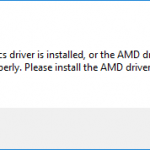 [Fixed] No AMD Graphic Driver is Installed on Windows 10