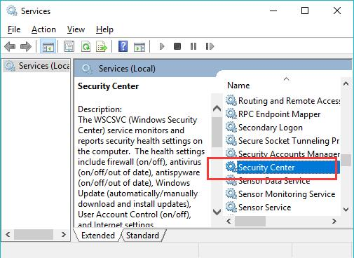 Fix Windows Defender not Turning on on Windows 10 - Windows
