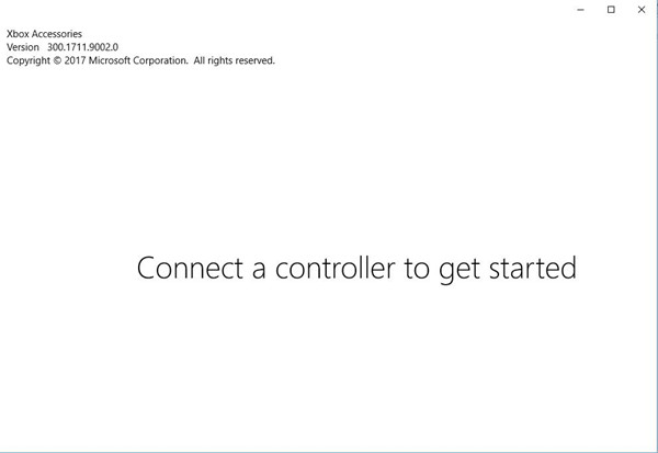 connect a controller to get started