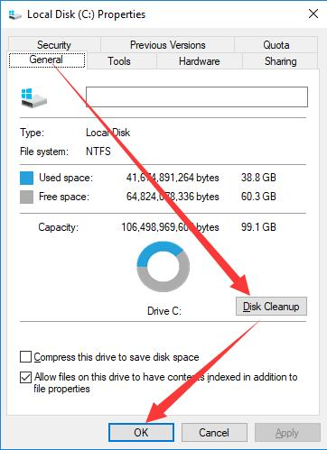 how to fix disk cleanup on youtube 10