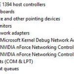 Fixed: NVIDIA nForce Networking Controller not Working Windows 10