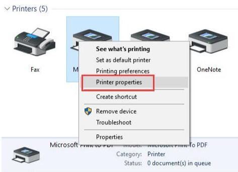 7 Ways to Fix Printer Offline Status on Windows 10 - Windows 10 Skills
