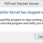 Fixed: PVP.net Patcher Kernel Has Stopped Working (2018 Update)