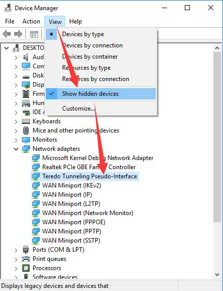 4 Ways to Fix Teredo Tunneling Pseudo-Interface Driver Not Working