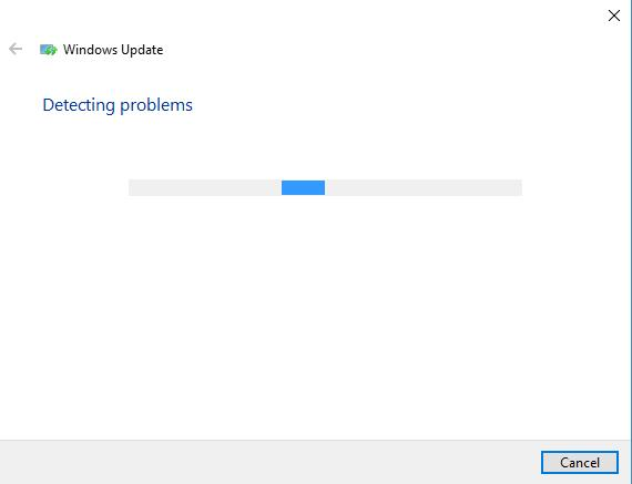 detecting windows update problems