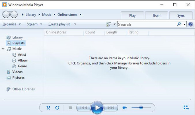 how to reinstall windows media player windows 10
