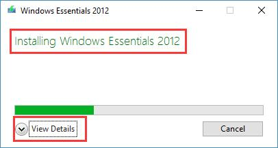 installing windows essentials