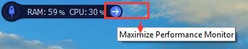 maxmium performance monitor