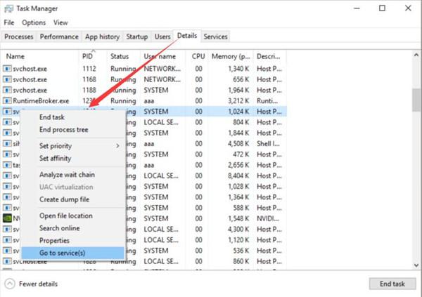 windows 10 svchost.exe high network usage