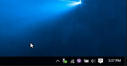 taskbar icons missing windows 10
