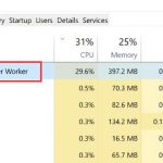Fix Windows Modules Installer Worker High CPU Usage Windows 10