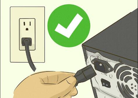 check computer power plug windows 10