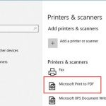 Solved: Microsoft Print to PDF Missing on Windows 10, 8, 7