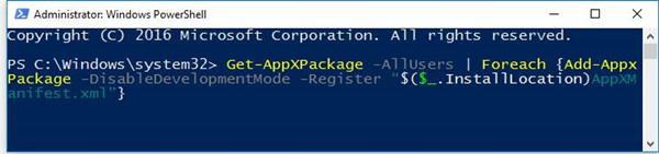 new task in windows powershell