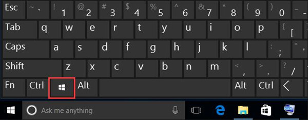 windows key not working windows 10