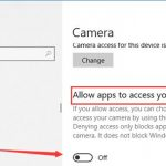 How to Stop Device Census from Using Webcam Windows 10