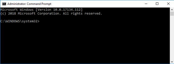command prompt not working windows 10