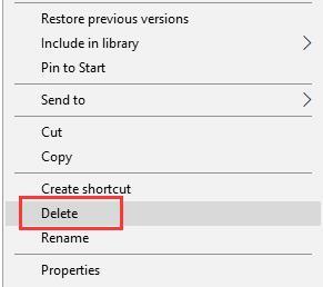delete calculator localcache folder